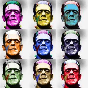 Color Frankenstein's Monster