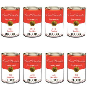 Count Dracula's canned blood