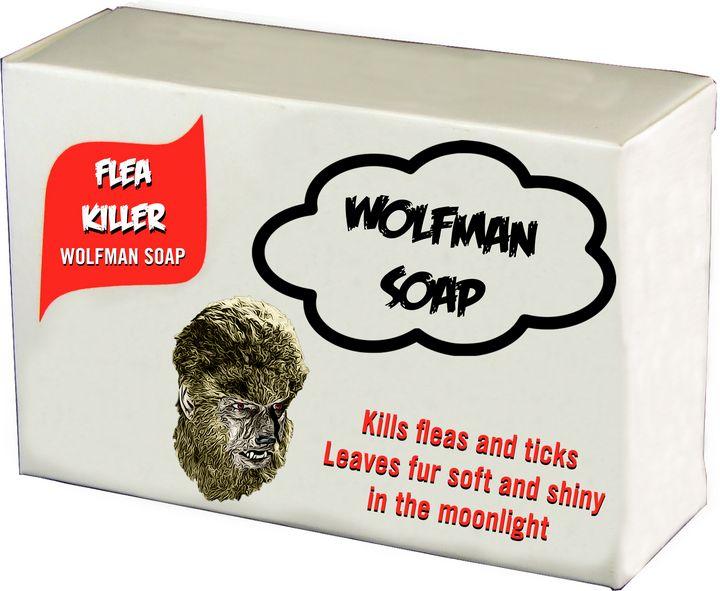 Wolfman Flea Killer - Horror Art