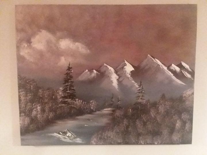 Winter slope - Paintings by Penrose