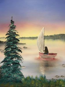 Setting sail on Chippewa bay