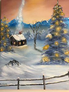 Blue mountain Christmas