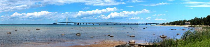 Mackinac Island Bridge - Ryan Halsey Photography