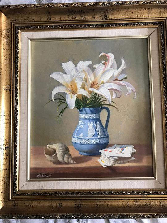 Erik W Gleave still life - Art to sell