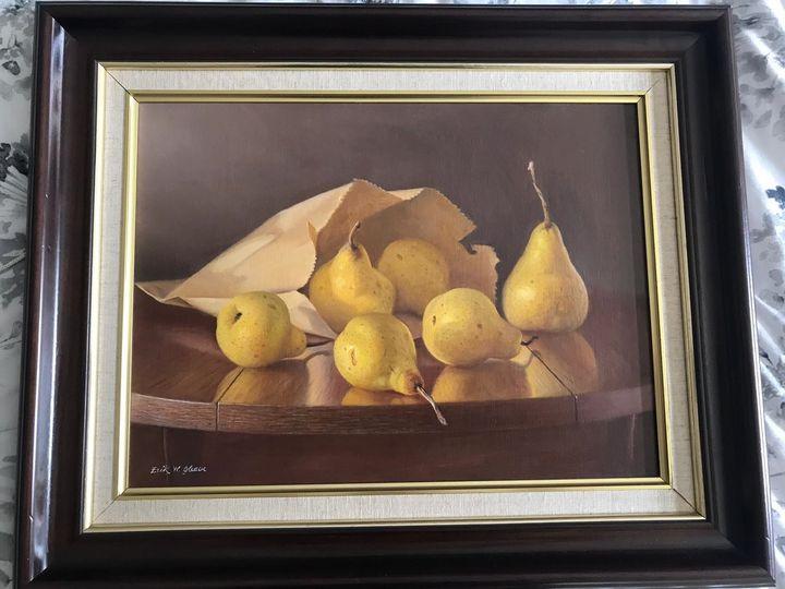 Erik W Gleave Pears - Art to sell