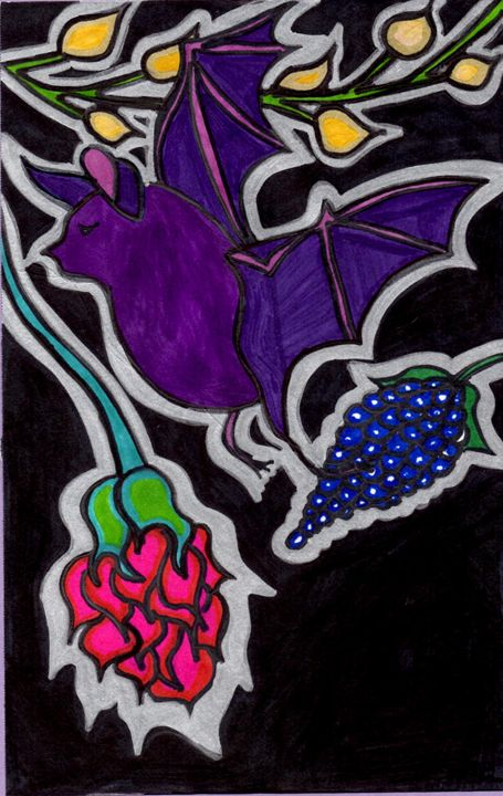 Flower Bat - Samantha Gaw