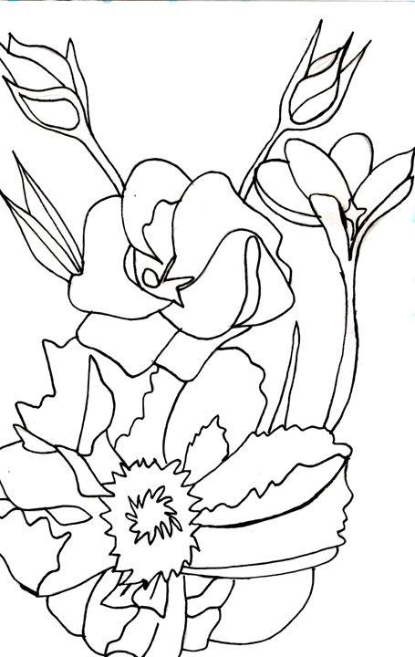 Coloring Book Page 3 - Samantha Gaw
