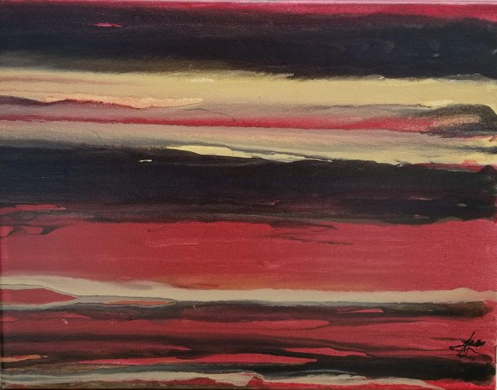 Chinese Nuclear Sunset - Trent Lund
