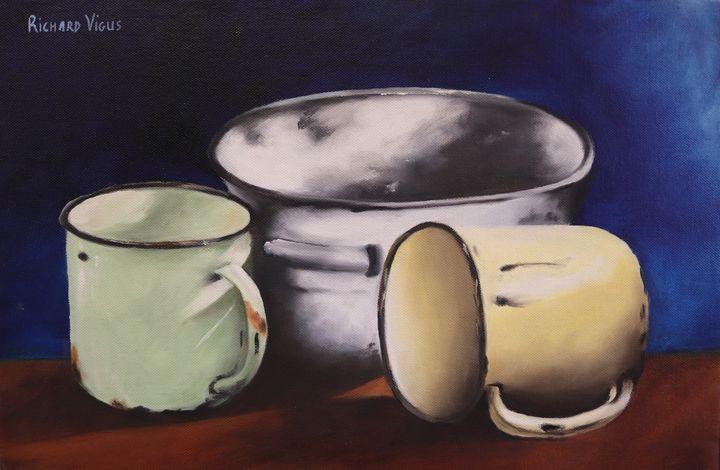 Tin containers - Richard Vigus