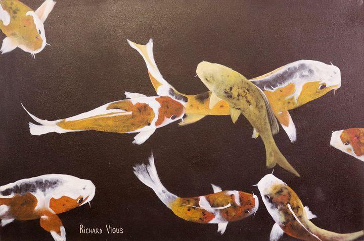 Koi fish - Richard Vigus