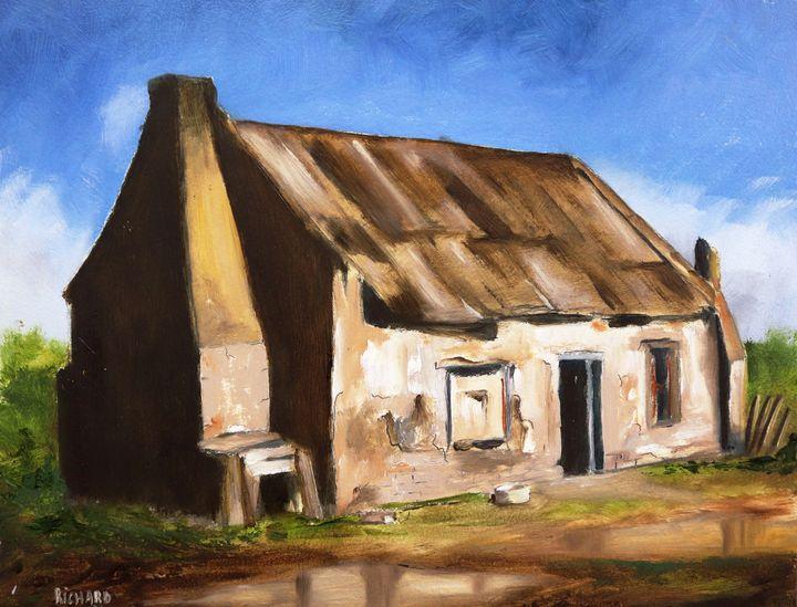Dilapidated House - Richard Vigus