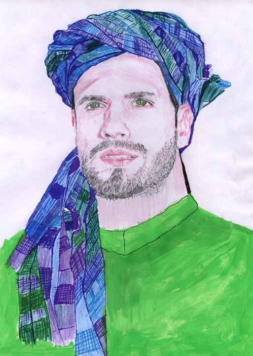 portrait of man - ameen