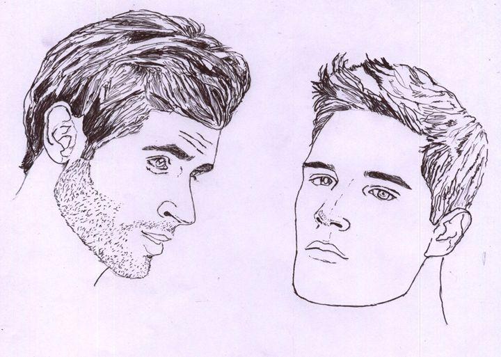 faces of men - ameen