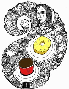 COFFE DONUT - ekosetyarmadhani