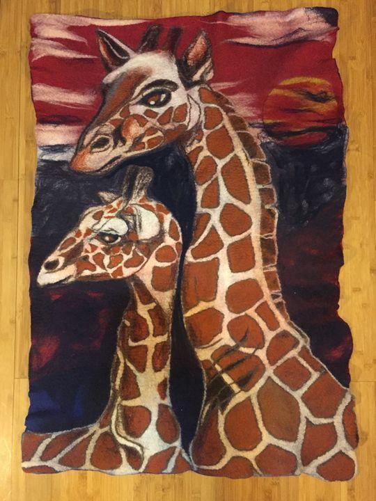 Giraffes - Darkhorse Farms Art Studio