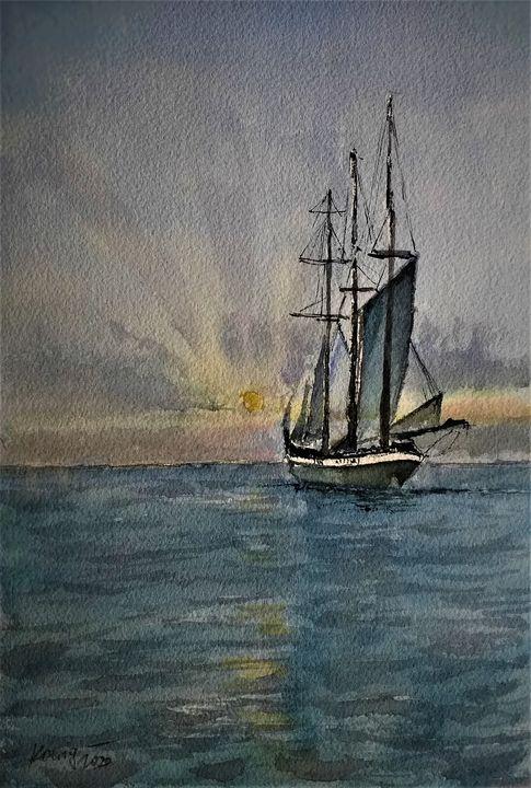 Sailboat - Ivica Stojanovic Konig