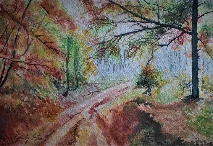 Road to forest - Ivica Stojanovic Konig