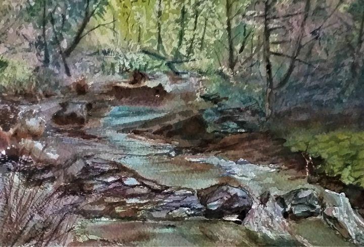Small creek - Ivica Stojanovic Konig