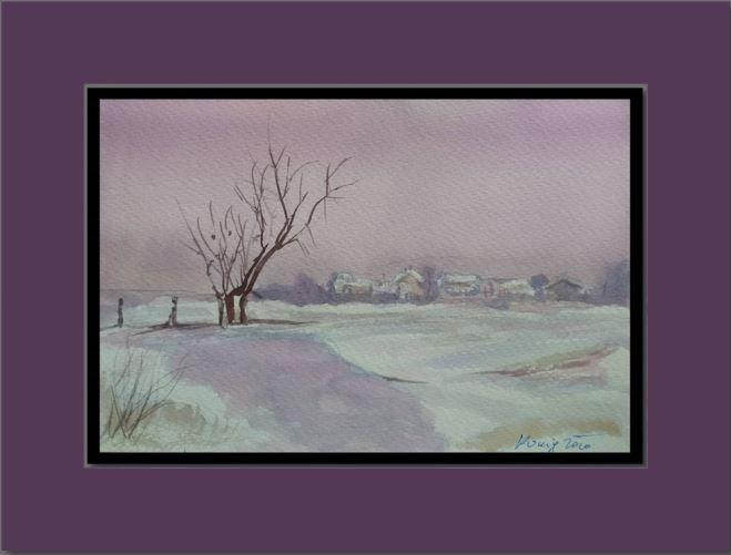 A tree in solitude - Ivica Stojanovic Konig