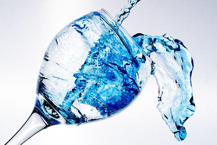 Blue Splash - Artwork