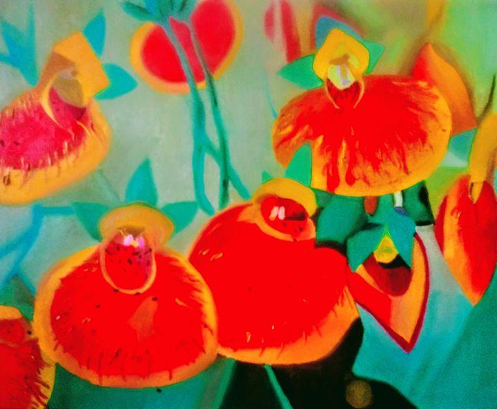 Slipper flowers - Giselle Bethke