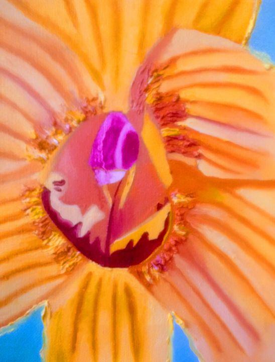 Orange Orchid - Giselle Bethke