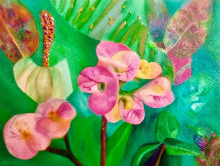 Flowers in wonderland - Giselle Bethke