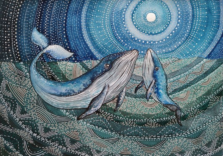 You are the Whale, my Son - Khrystyna-Maria