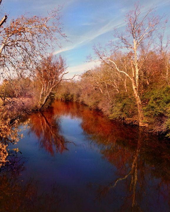 Fall on the Elkhorn - David Neace Artist