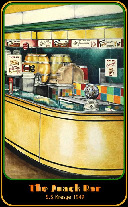 The Snack Bar - David Neace Artist