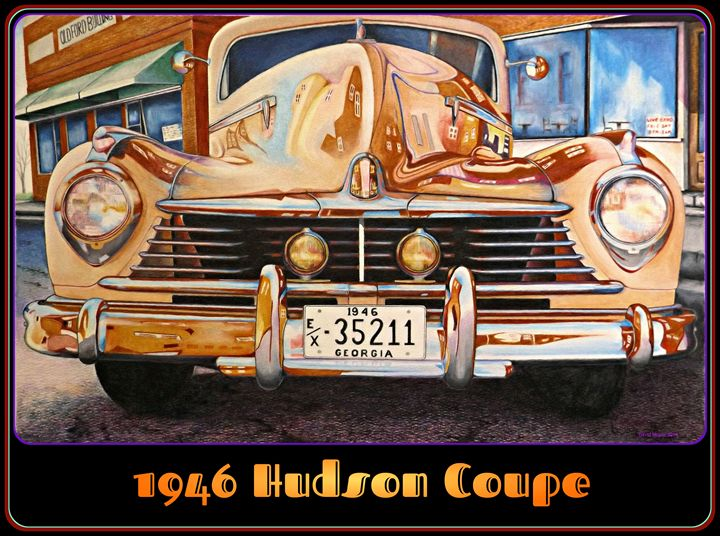1946 Hudson Coupe - David Neace Artist