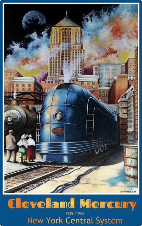 Cleveland Mercury - David Neace Artist