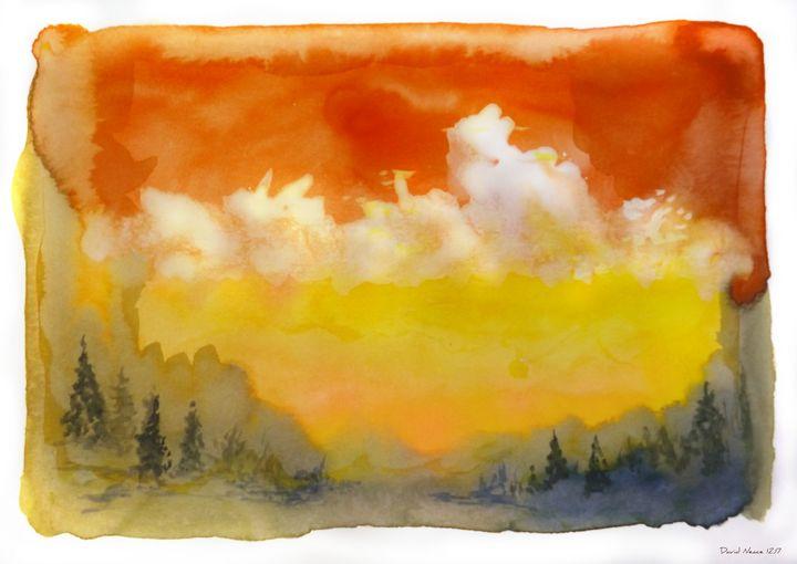 Mountain View - David Neace Artist