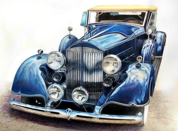 Reflection on Blue - David Neace Artist