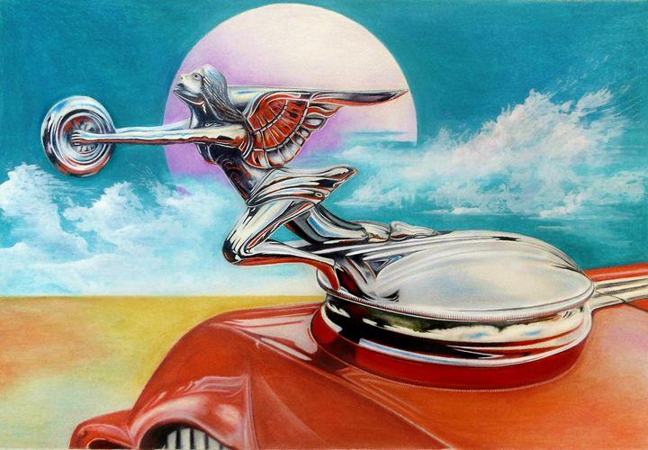Goddess of Speed - David Neace Artist