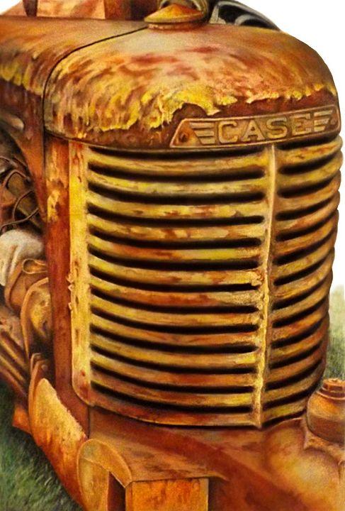 I Rust My Case - David Neace Artist