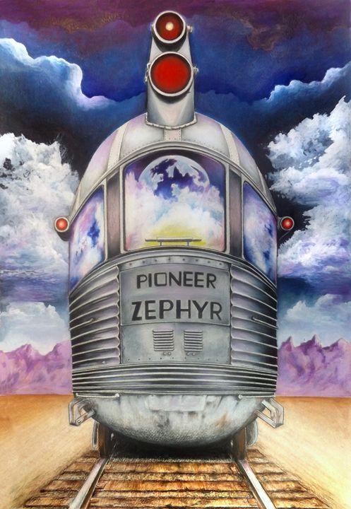 Pioneer Zephyr - David Neace Artist