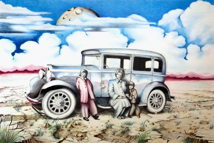 Sunday Drive - David Neace Artist