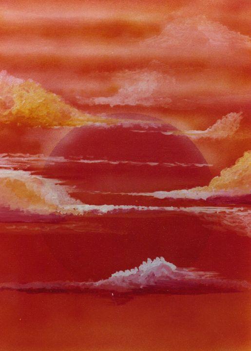 Sunset - David Neace Artist