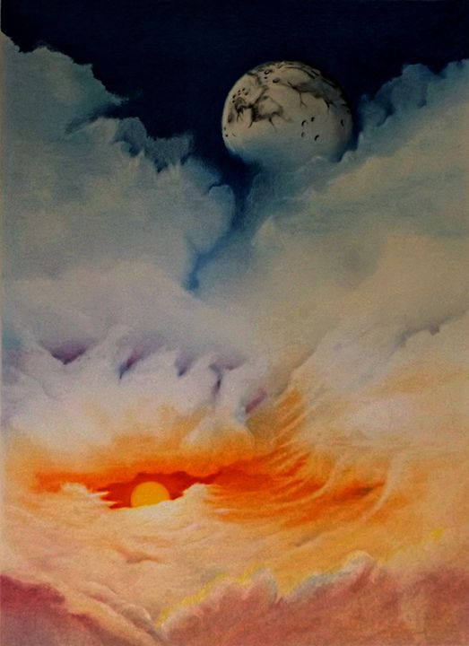 Moonrise - David Neace Artist