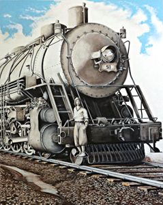 Locomotion 1928 - David Neace Artist