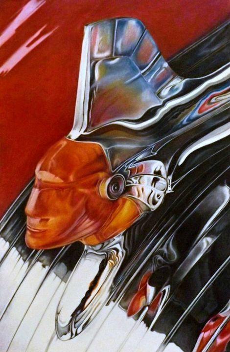 Chieftain - David Neace Artist