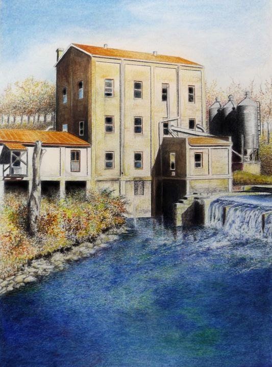 Weisenberger Mill - David Neace Artist