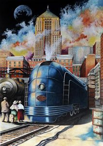 All Aboard - David Neace Artist