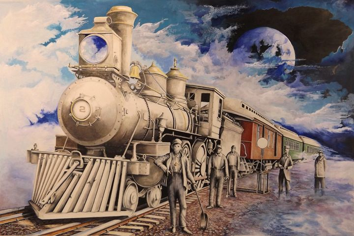 Journey Through the Mists of Time - David Neace Artist