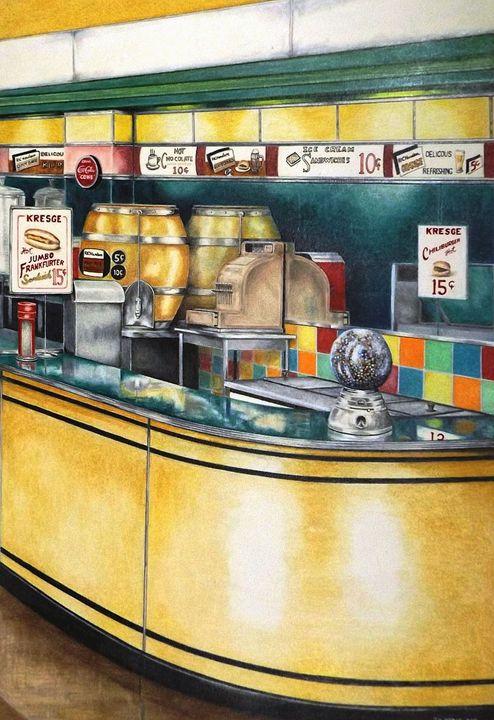 Reflections Passed - David Neace Artist