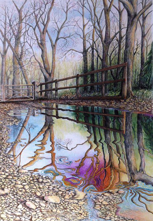 Spirit of The Woods - David Neace Artist