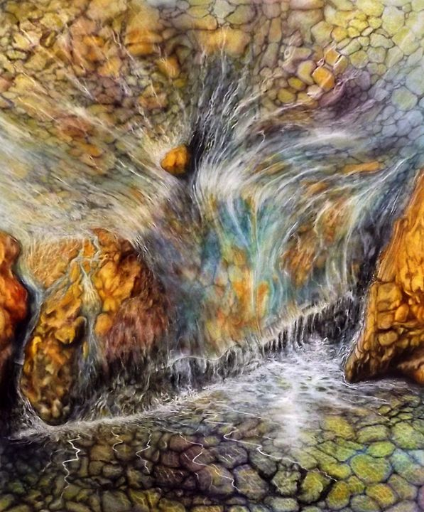 Namaste - David Neace Artist