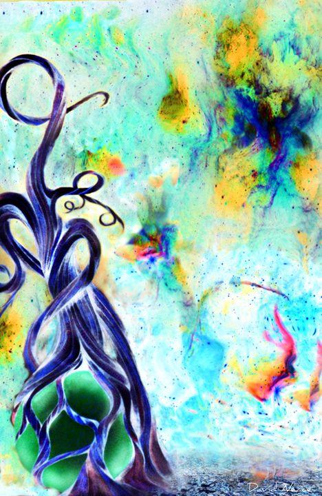 Faries and Butterflies - David Neace Artist