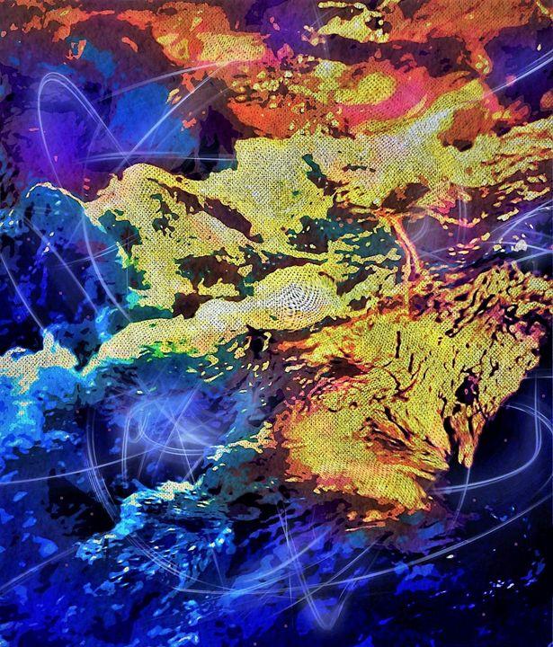 Spirit Con Trails - David Neace Artist